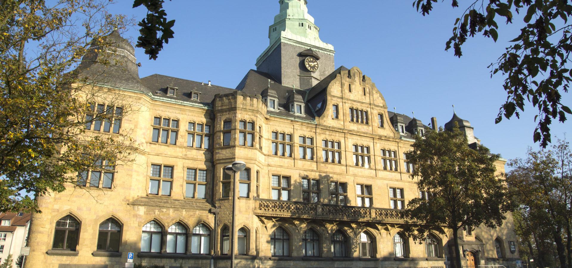 Rathaus der Stadt Recklinghausen, NRW, Deutschland